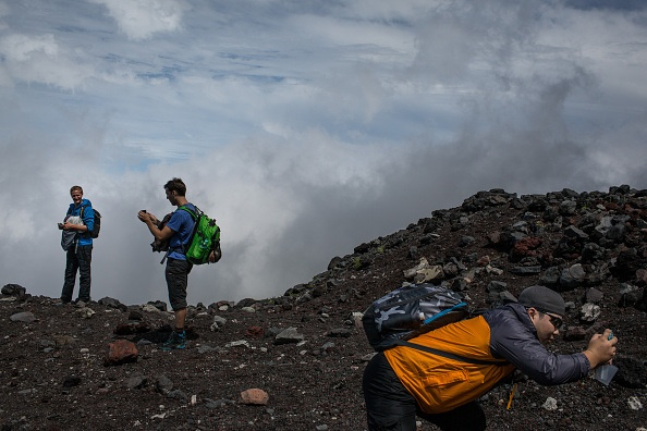 На японской горе Фудзияма появится Wi-Fi - 1