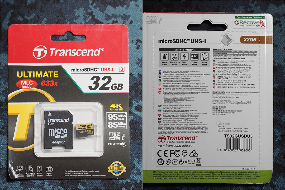 Тестирование карточек памяти SD и microSD емкостью 32 гигабайт - 10