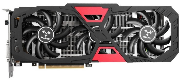 Colorful GeForce GTX 980 Ti iGame Ymir-X
