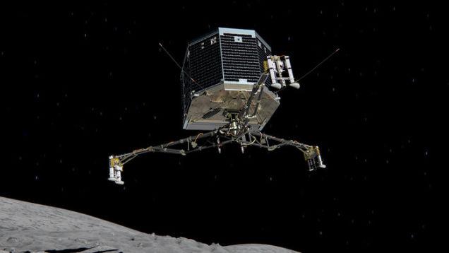 Philae в восьмой раз провел сеанс связи с Землей - 1