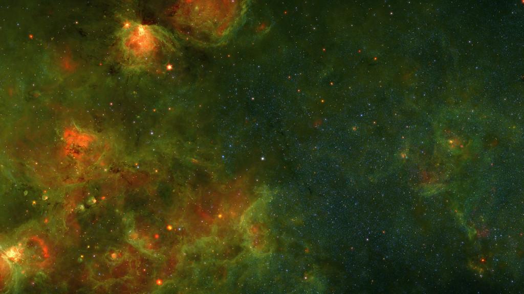 Видео из 400000 фотографий Млечного Пути - 1