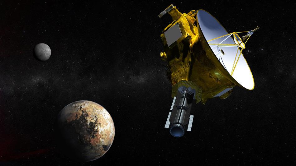Cближение с Плутоном может уничтожить New Horizons - 1