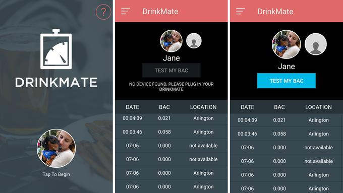 DrinkMate — миниатюрный алкотестер для iPhone - 3