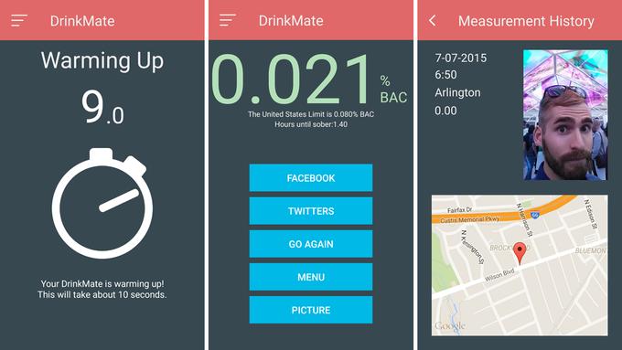 DrinkMate — миниатюрный алкотестер для iPhone - 4