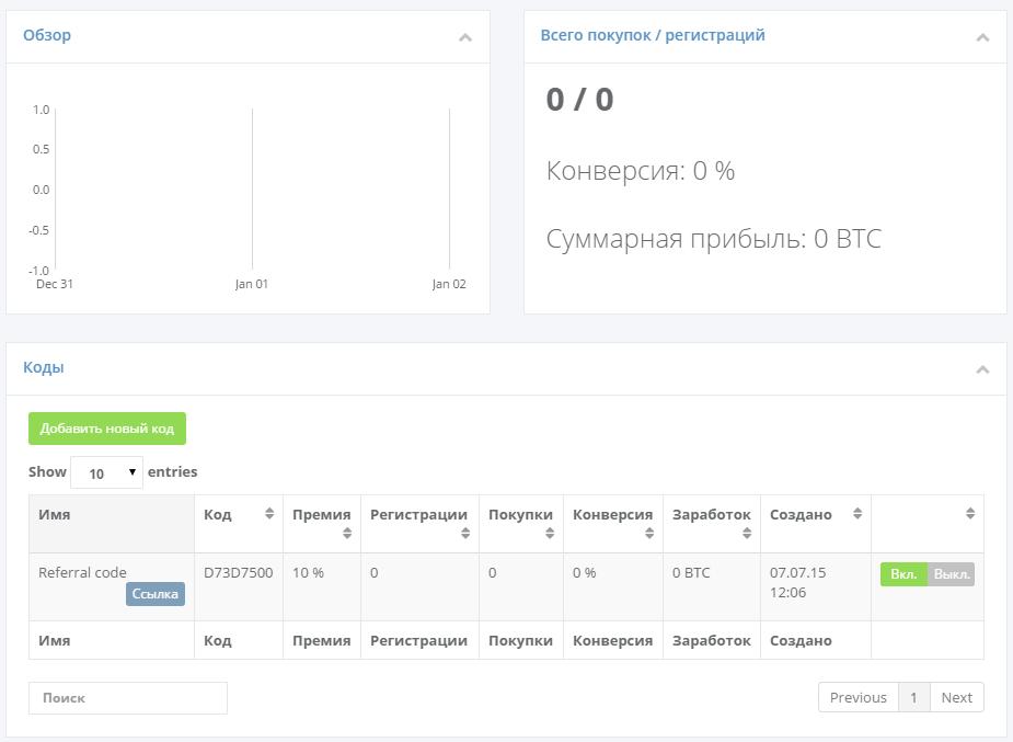 Тест сервиса облачного майнинга hashflare.io - 12