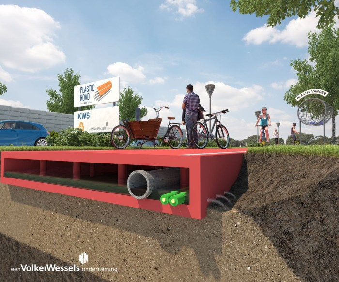 В Голландии начинают тестировать пластиковые автодороги - 2