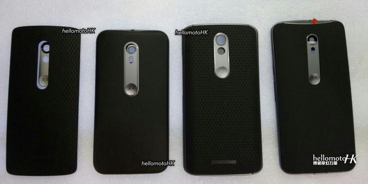В Сети появилось фото задних крышек новых смартфонов Motorola (Обновлено) - 1
