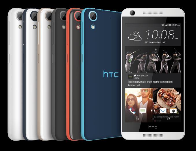 HTC Desire 626, 626s, 526 и 520