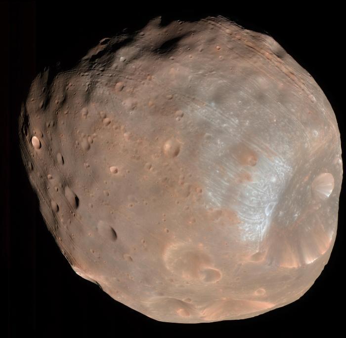 Фобос и Деймос: захваченные астероиды или обломки Марса? - 1