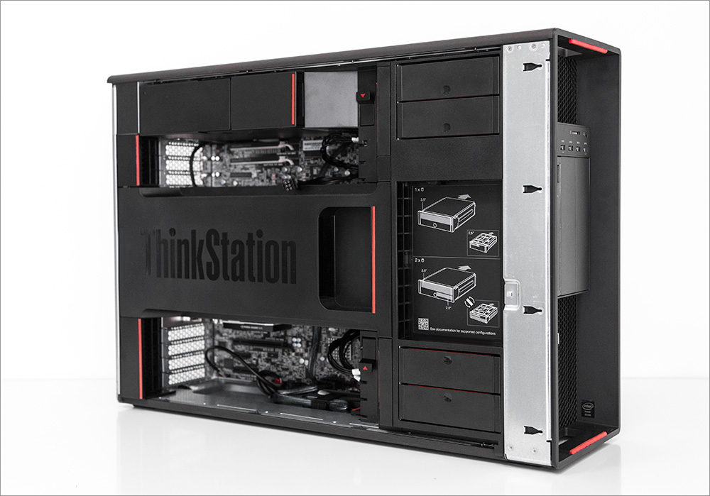 Два процессора, Карл! Анатомия Lenovo ThinkStation P900 - 22