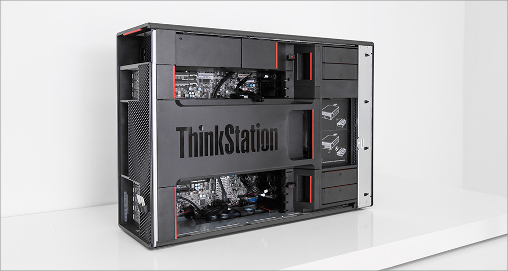 Два процессора, Карл! Анатомия Lenovo ThinkStation P900 - 24