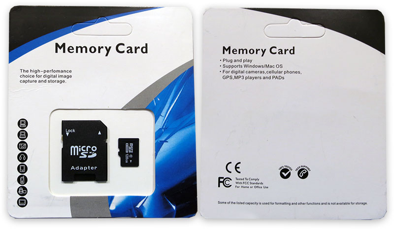Fake Noname 128GB Micro SD
