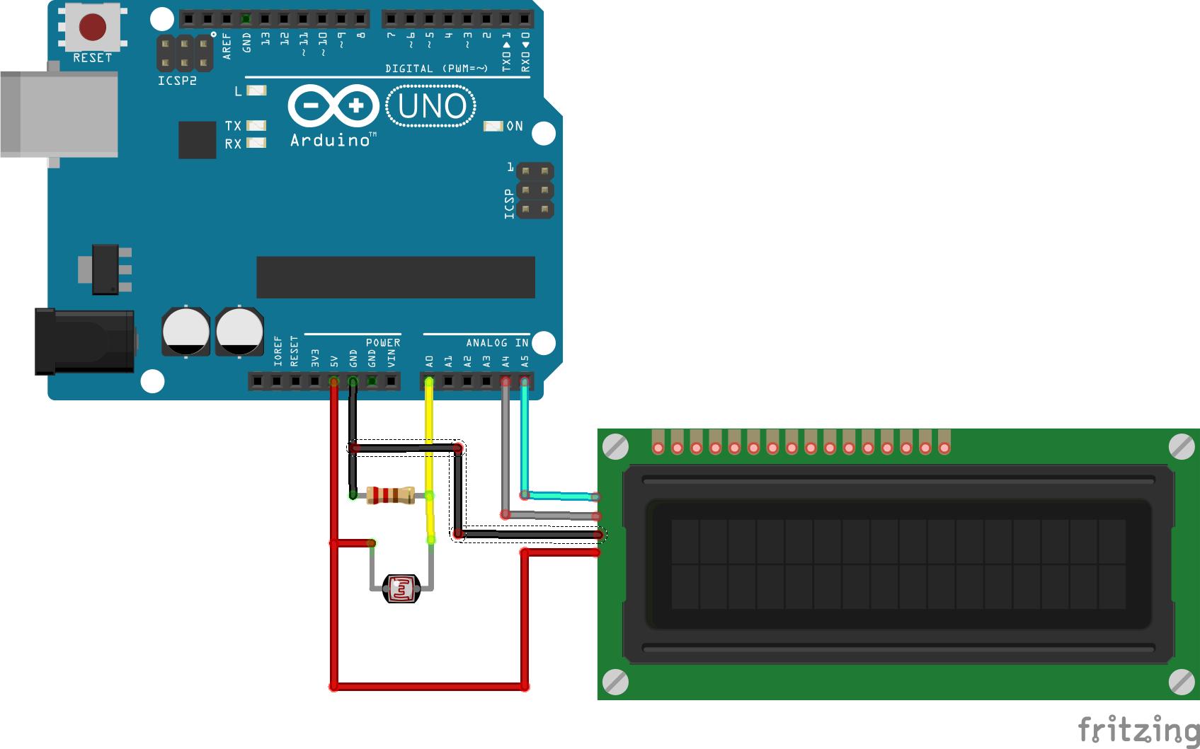 Лазерная связь между двумя Arduino кодом Морзе - 6