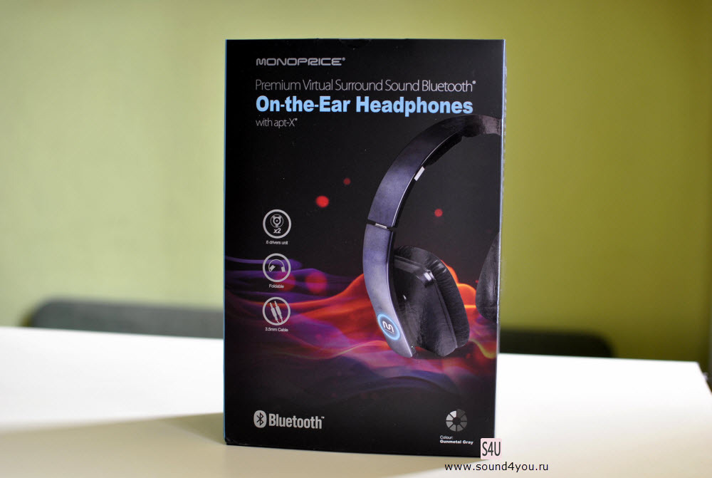 Обзор Bluetooth-наушников закрытого типа Monoprice Premium Virtual Surround Sound 10585 - 2
