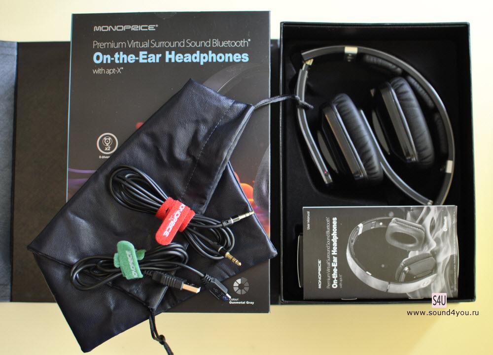 Обзор Bluetooth-наушников закрытого типа Monoprice Premium Virtual Surround Sound 10585 - 3