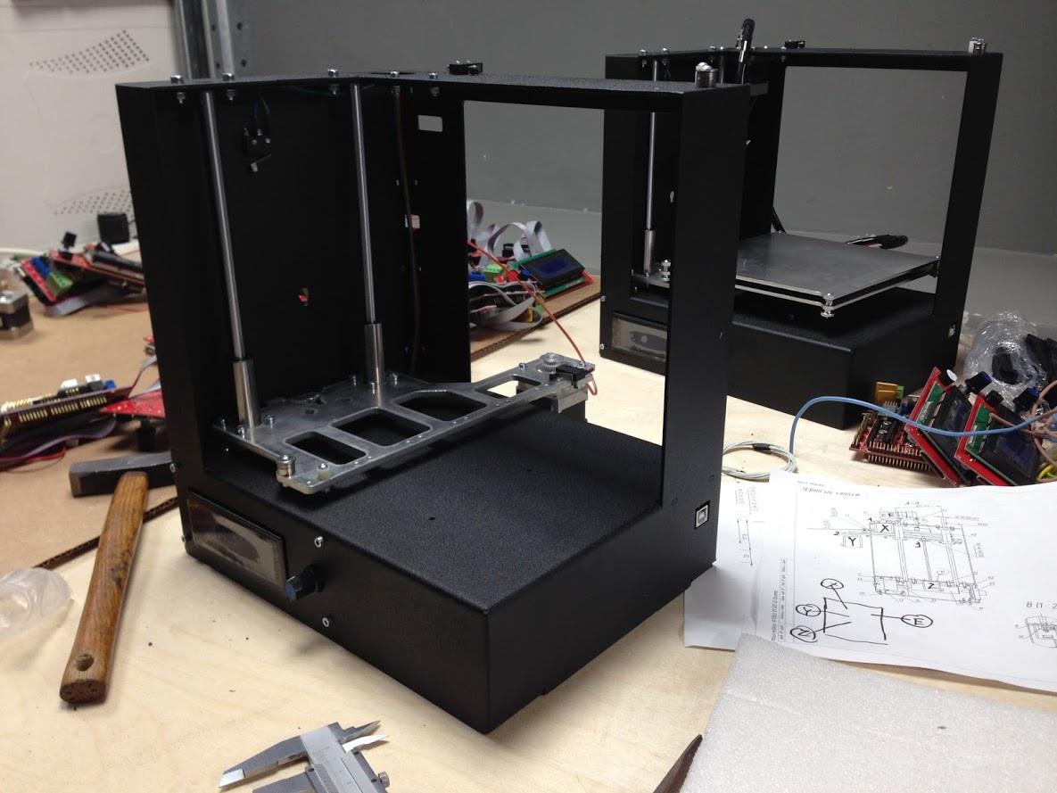 Поездка на завод МЗТО, новый 3D принтер MZ3D-256 и экструдер МЗТО E3Dv6 - 5