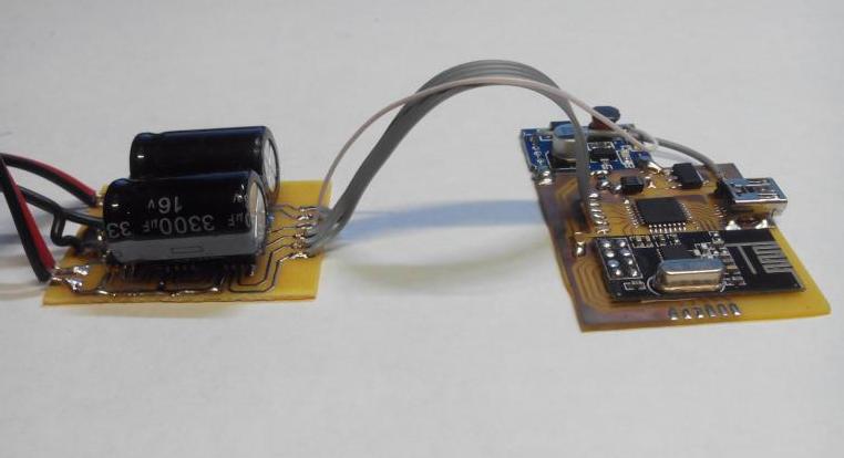 Радиоуправляемый катер на Arduino и радио модуле NRF24L01 из потолочной плитки - 6