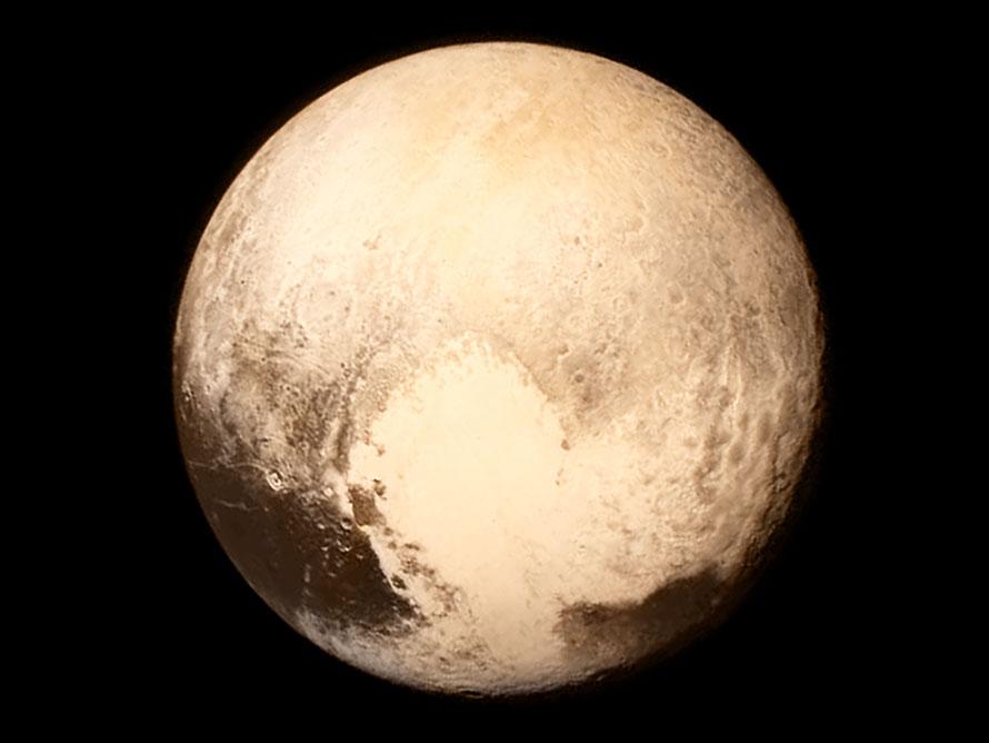 NASA выложило анимированное видео пролета New Horizons над Плутоном - 1