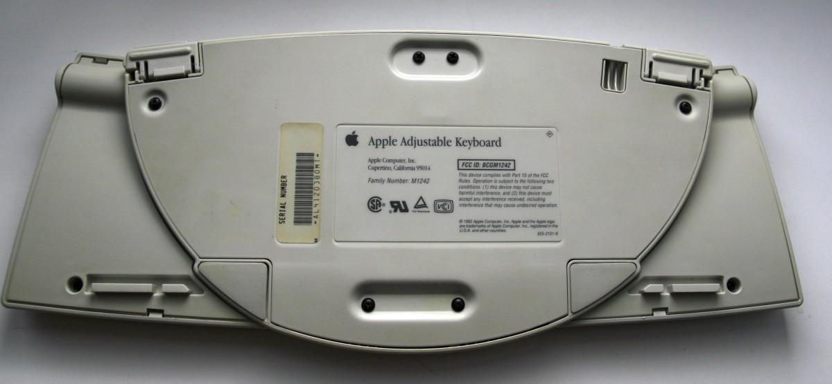 Восстановление Apple Adjustable Keyboard - 12