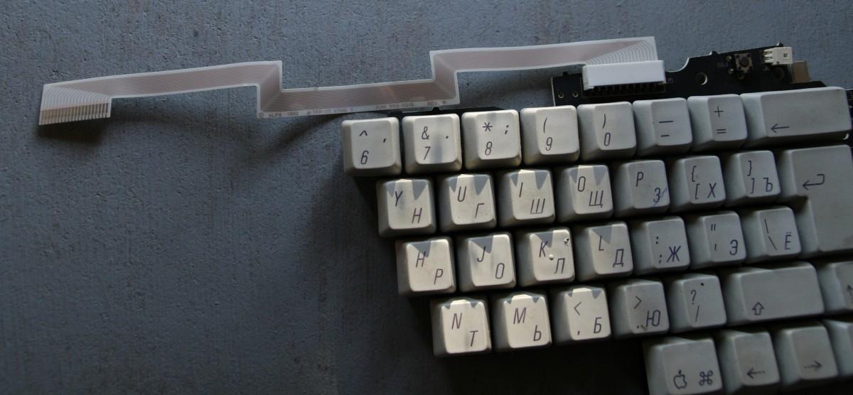 Восстановление Apple Adjustable Keyboard - 3