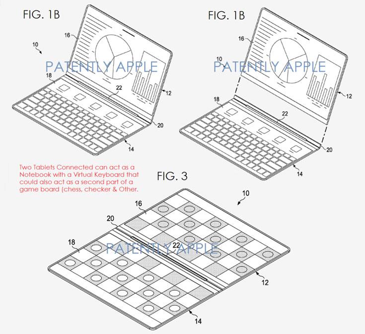 Второе изобретение Intel — соединение двух планшетов «книжкой»