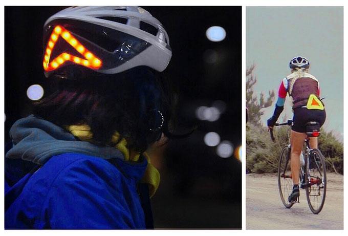 Особенностью шлема Lumos является встроенная светодиодная индикация