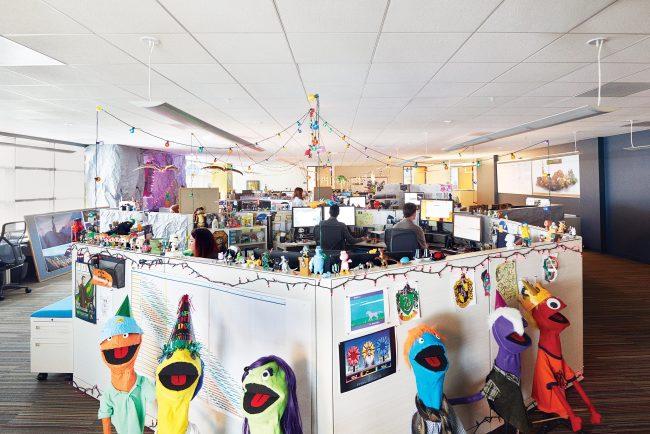 Офис в Глендейле отдела телевидения компании DreamWorks Animation