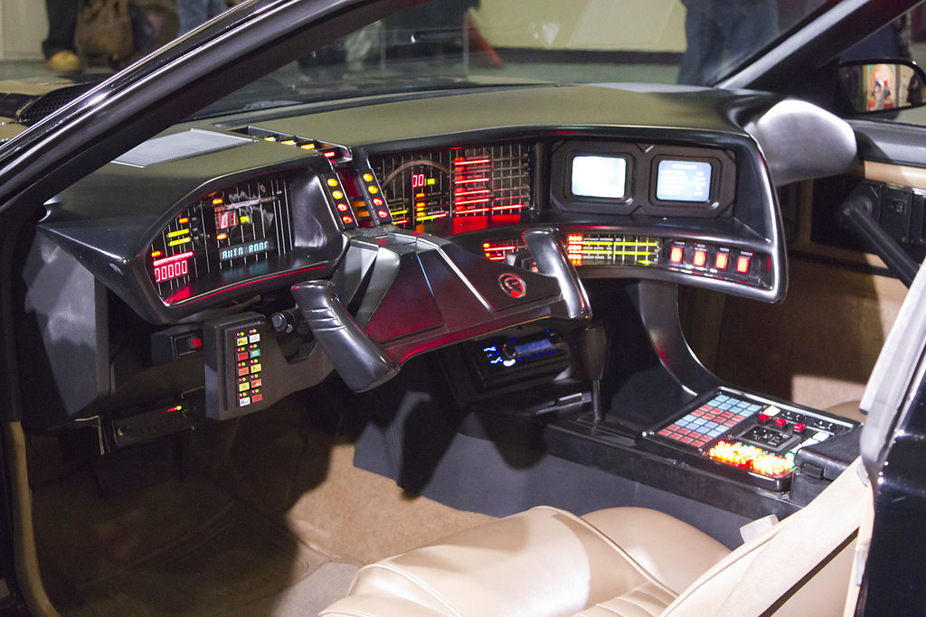 KITT Interior at Toronto Auto Show 2011