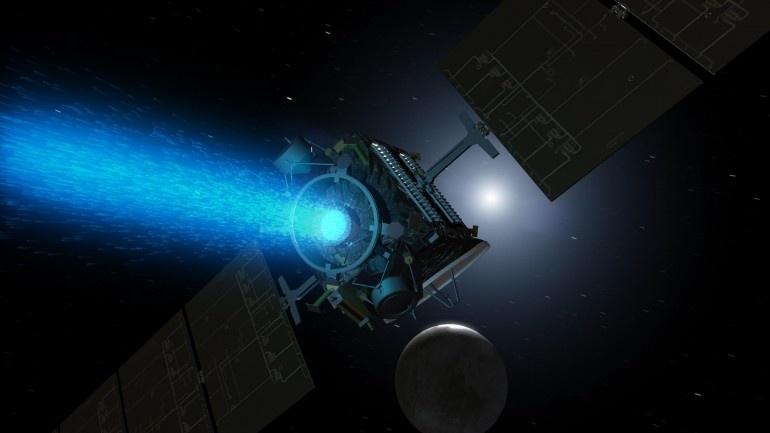 Зонд Dawn включил двигатель для выполнения маневров по сближению с Церерой - 1