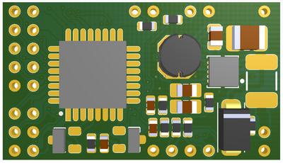 Коммутатор фар и фонарей для автомобиля с контролем состояния аккумулятора и термометрами - 5