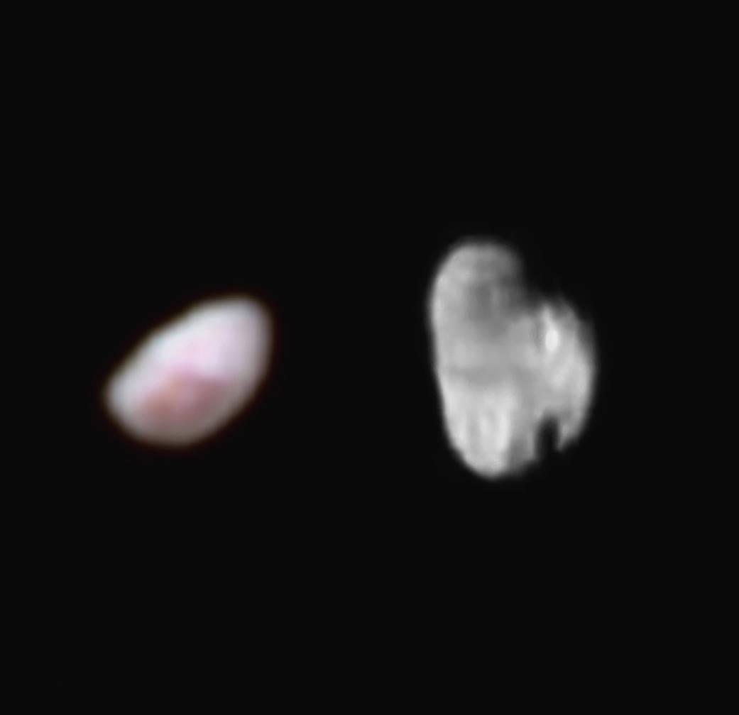 New Horizons прислал качественные фото малых спутников Плутона: Никты и Гидры - 2