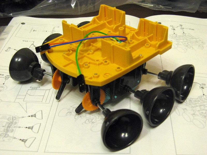 Робот-конструктор «Хватоход» - 18