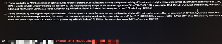 Видеокарта Radeon R9 Nano в два раза превосходит R9 290X по производительности на ватт - 3