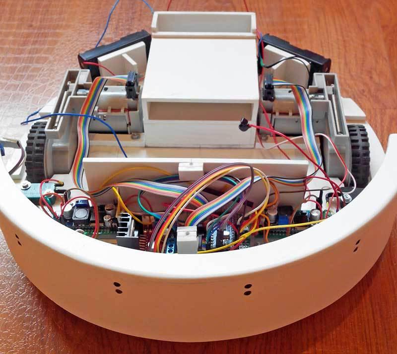 Робот-пылесос на ардуино - 1