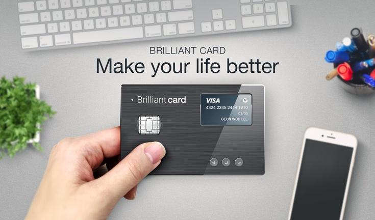 Умная платежная карта BrilliantTS заменяет более 30 кредиток и не только