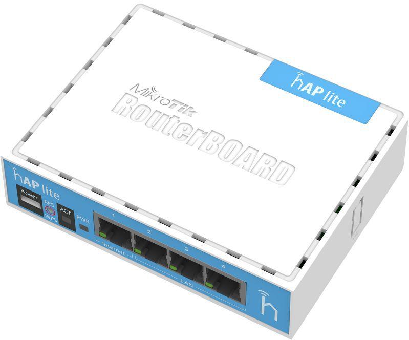 MikroTik hAP lite – маленький WiFi роутер с большими возможностями - 2