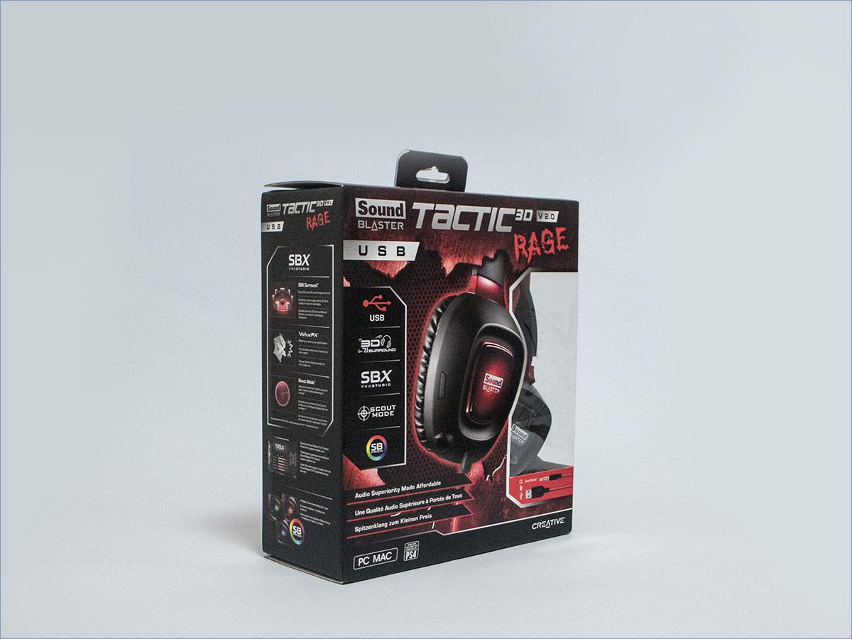 Личный опыт: Creative SoundBlaster Tactic 3D Rage v2 - 3