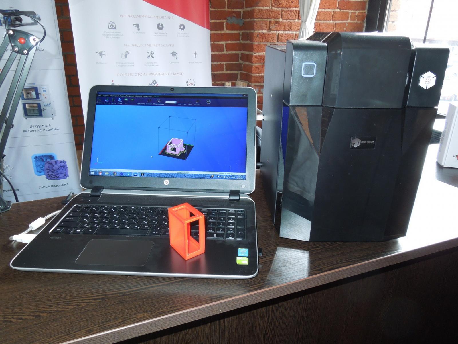 Обзор домашнего бюджетного 3D-принтера UP! mini - 13