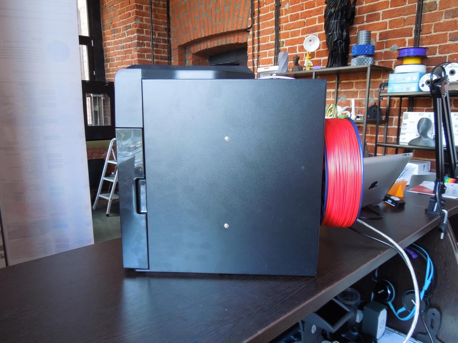 Обзор домашнего бюджетного 3D-принтера UP! mini - 4