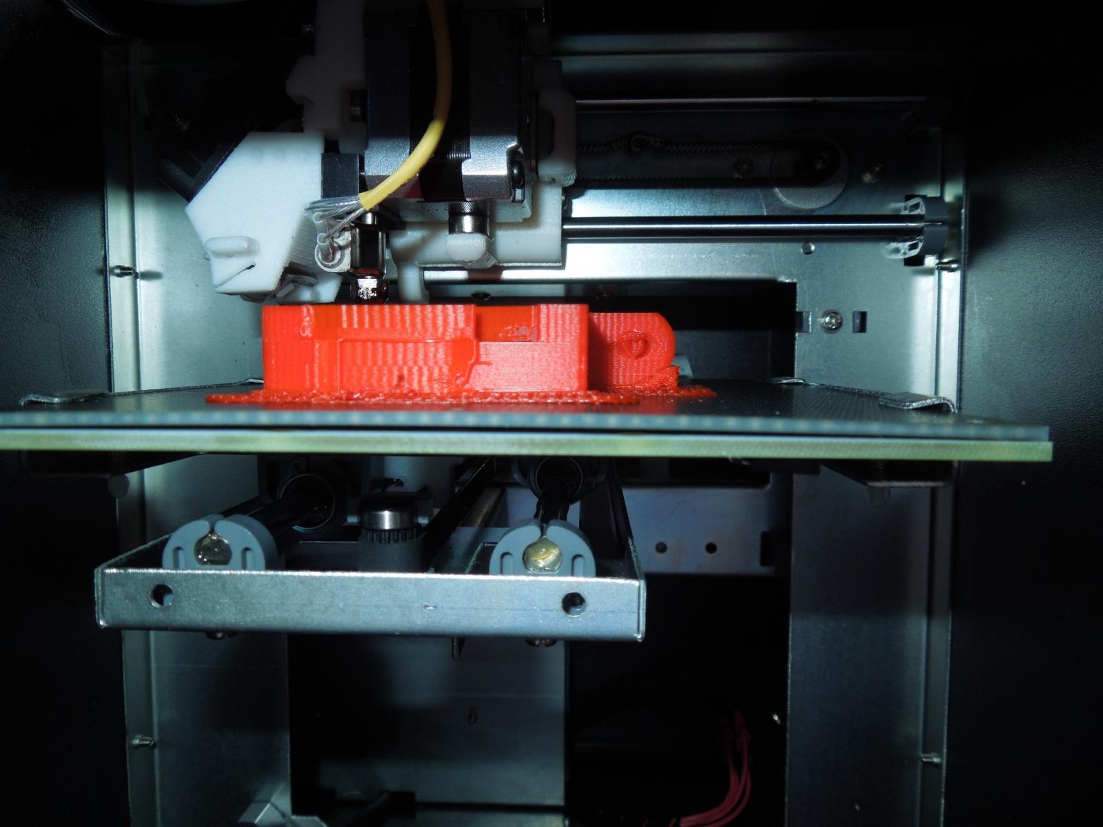 Обзор домашнего бюджетного 3D-принтера UP! mini - 8