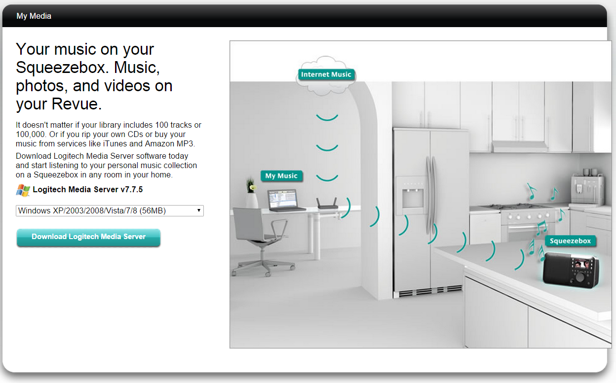 Аудио мультирум своими руками. Многокомнатная музыкальная система на основе бесплатного Logitech Media Server - 2