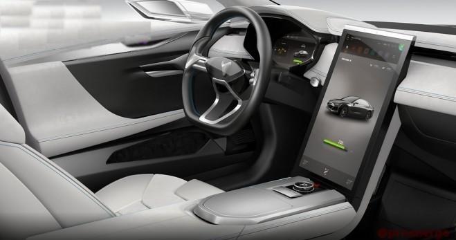 Китайская компания «Youxia» практически полностью скопировала электромобиль «Tesla» - 4