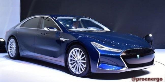 Китайская компания «Youxia» практически полностью скопировала электромобиль «Tesla» - 1