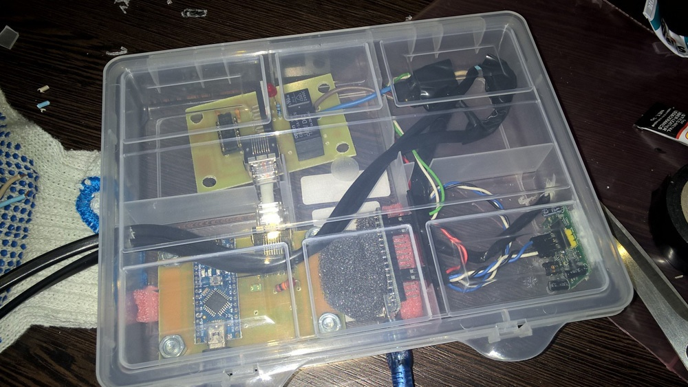 «Почти умный» тёплый пол на Arduino - 12