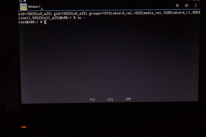 Android на x86 ноутбуке - 4