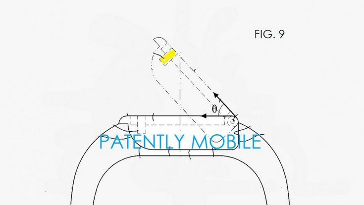 Новый патент Samsung описывает умные часы с поворотным экраном