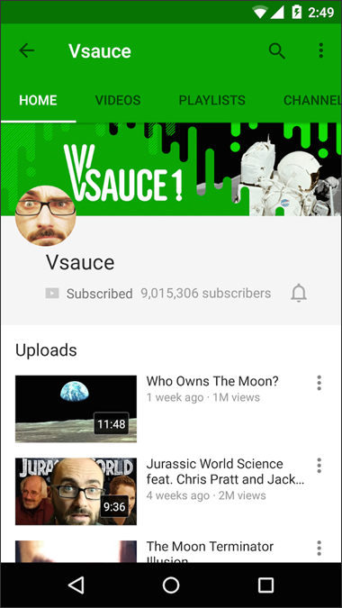 YouTube на мобильниках по-новому - 3