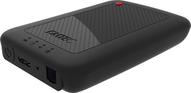 Внешний жесткий диск Wi-Fi HDD P700 выпускается объемом 1 и 2 ТБ