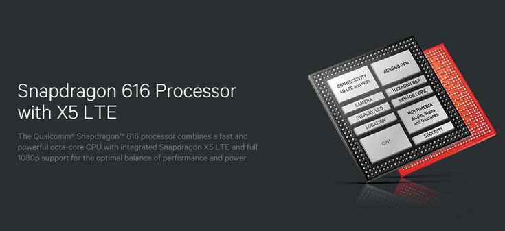 Платформа Snapdragon 616 почти не отличается от Snapdragon 615