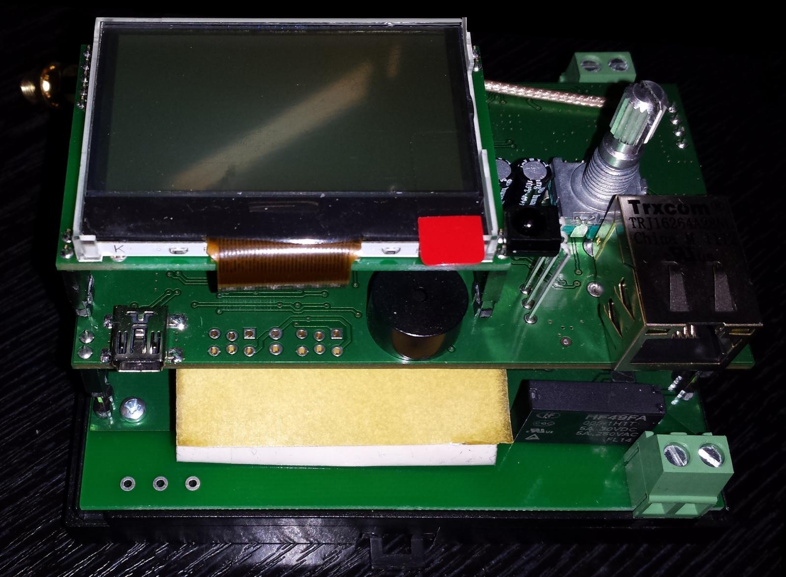 Автоматическая беспроводная система управления кондиционерами, или блок ротации на STM32 + TI CC2530 - 2